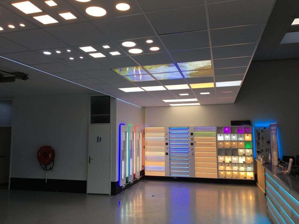 led panel 120x30 neutralwei 40 watt 4000 k 100 lm watt inkl trafo. Black Bedroom Furniture Sets. Home Design Ideas